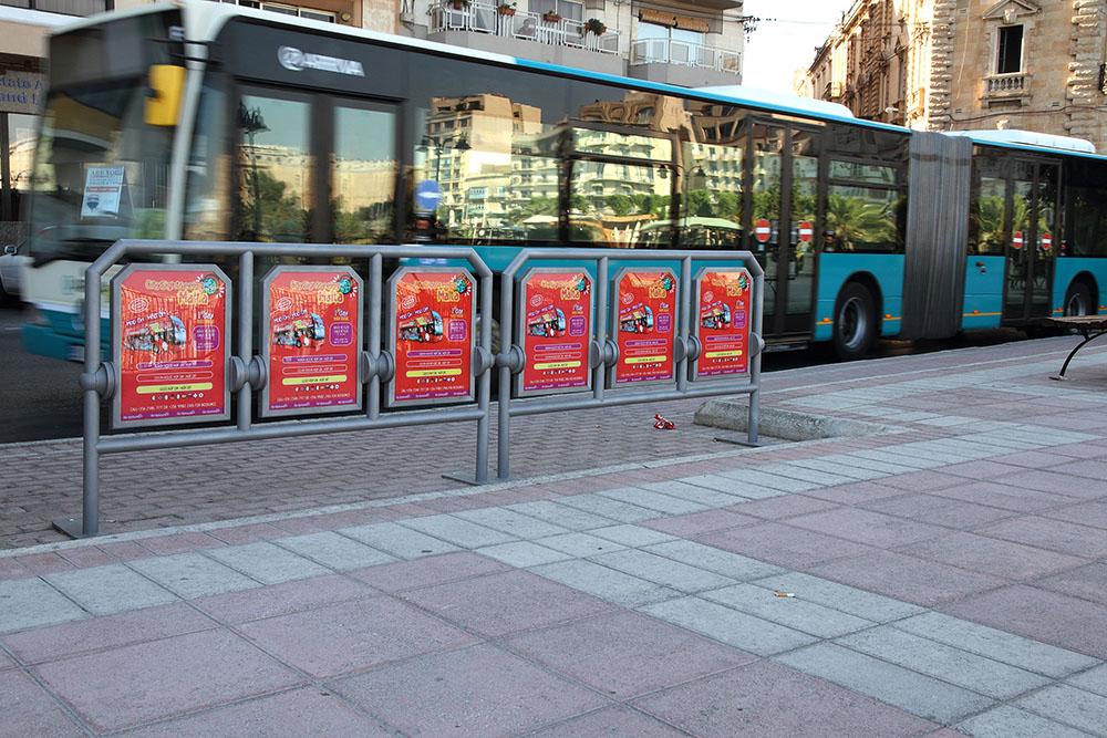 MultiSit for bus stations in Malta